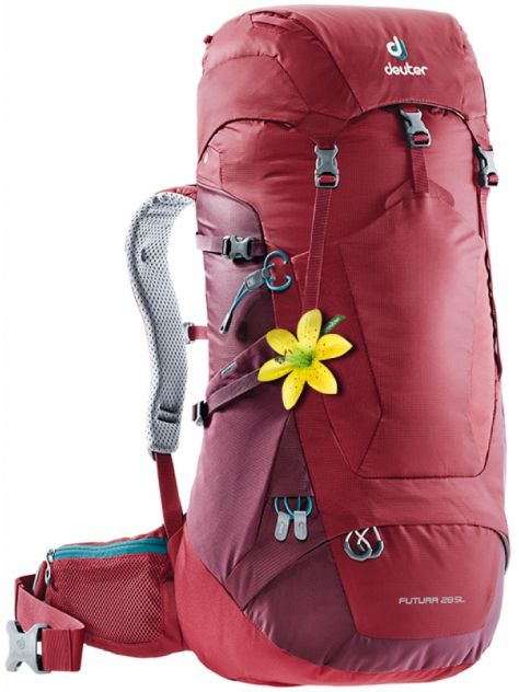 NEW Plecak Futura 28 SL cranberry-marron Deuter