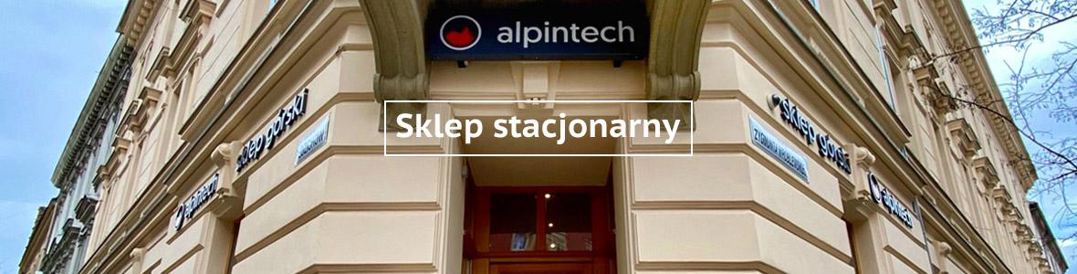Sklep stacjonarny banner alpintech