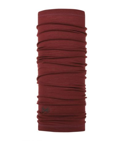 Chusta Wool Lightweight Buff SOLID WINE