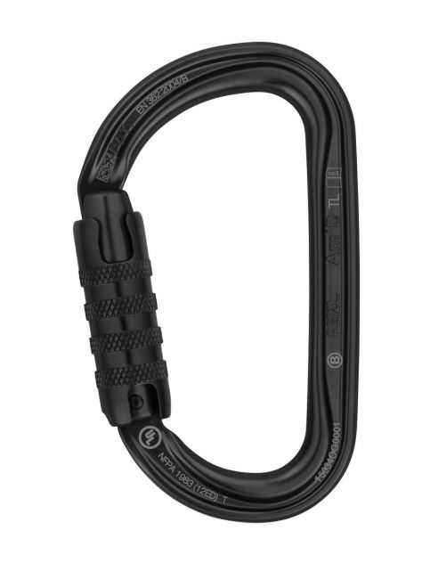 Karabinek AM'D AMD Triact Lock Petzl czarny