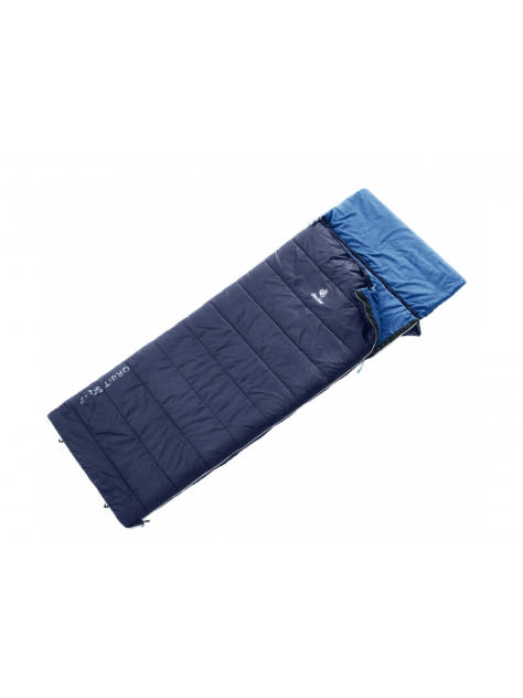 Śpiwór Orbit SQ +5° Deuter navy-steel Large R