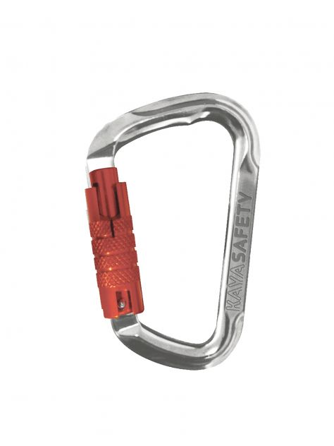 Karabinek D-Shape K-13 3A Triact Lock Kaya Safety