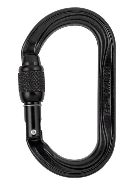 Karabinek Oxan Screw Lock Petzl czarny