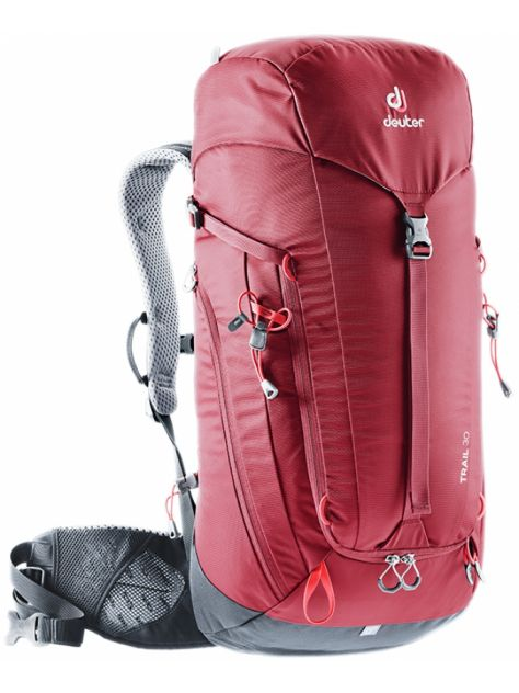 43b85c5c17b97 Plecak Trail 30 cranberry-graphite Deuter