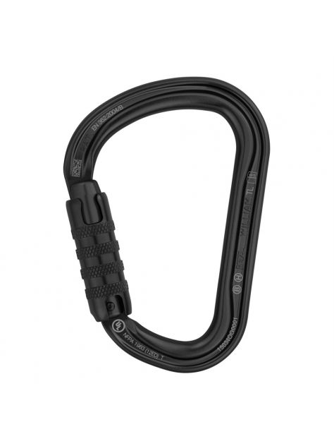 Karabinek HMS William Triact Lock Petzl czarny