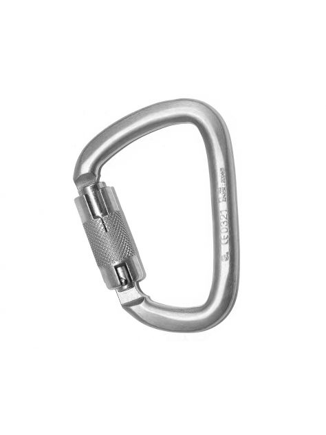 Karabinek D steel RGK-3 Twist Lock Ridge Gear
