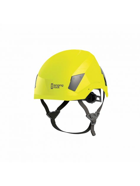 Kask do prac na wysokości Flash Industry Singing Rock HI-VIZ