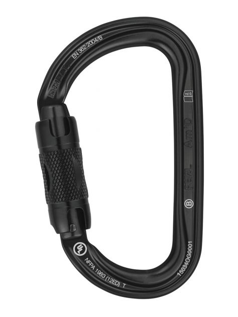 Karabinek AM'D AMD Twist-Lock Petzl czarny