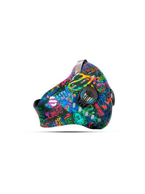 Maska antysmogowa z neoprenu SPORT Graffiti Safe Mask  [outlet]