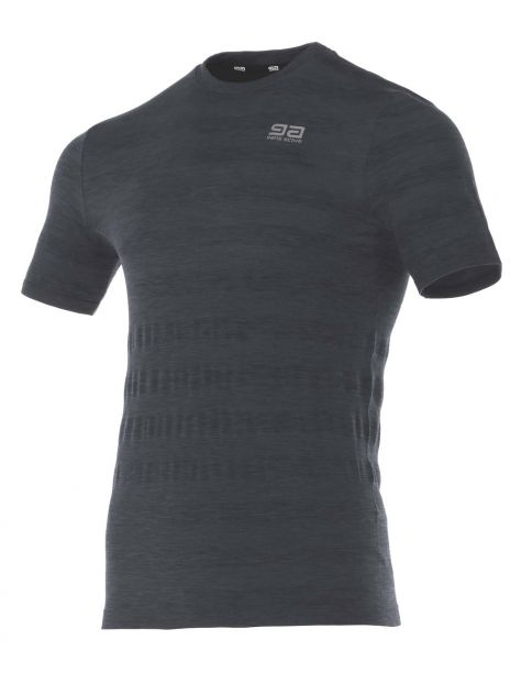T-shirt męski Asice Seamless Men Ziggy Gatta Active szary