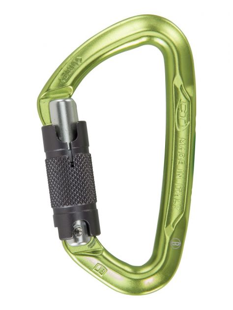 Karabinek  Lime CF WG (Twist Lock) zielony CT
