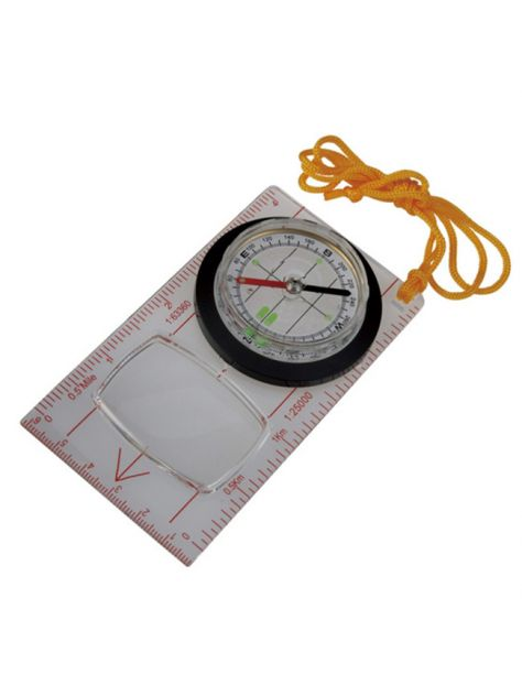 Kompas Fluorescent Map Compass Ace Camp