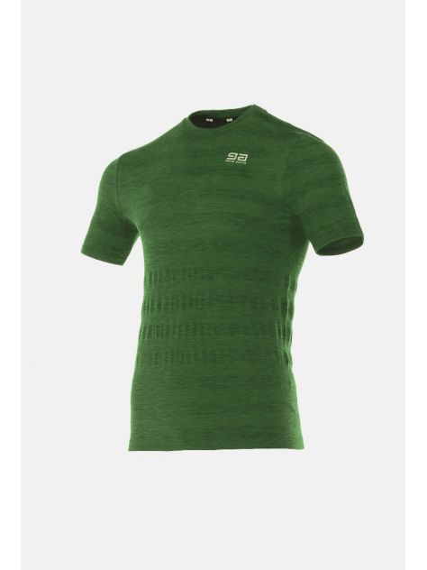 T-shirt męski Asice Seamless Men Ziggy Gatta Active zielony